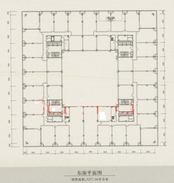 三至十二层层高3米;西楼首层层高4